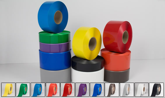 coloured floor tape