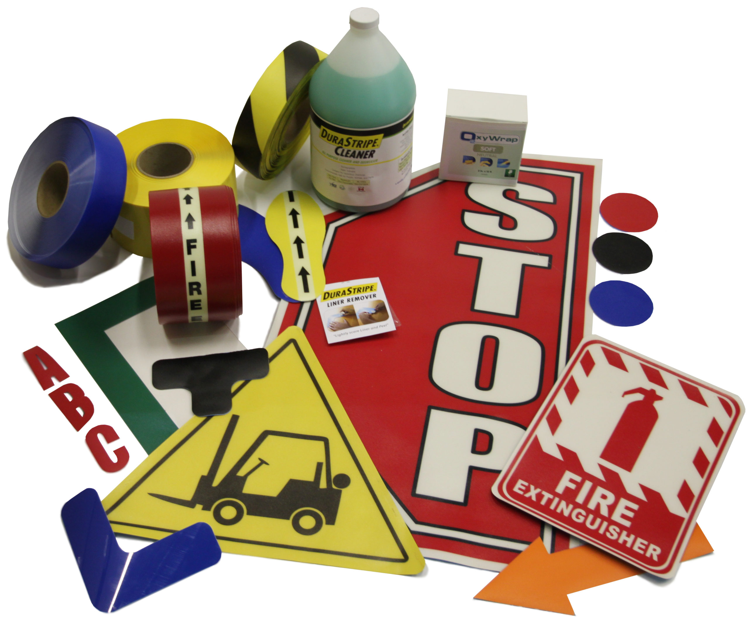Signage and floor-marking Starter Kit