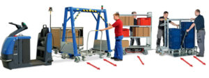 warehouse lifting equipment