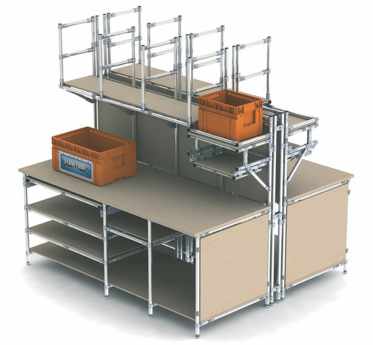 flow tube racks