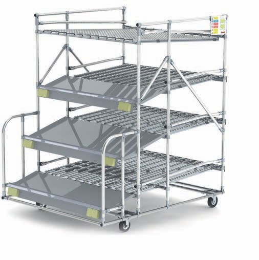 flow tube racking