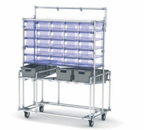heavy duty folding trolley