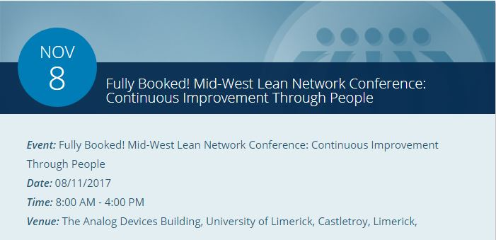 Mid-West Lean Network Conference